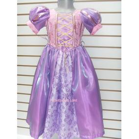 Disfraz Vestido Rapunzel Para Niña Disfraz Enredados