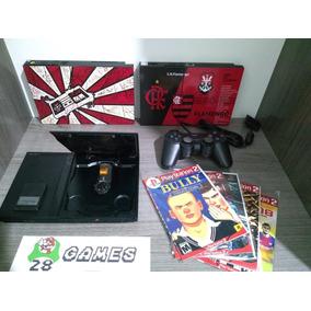 Playstation 2 Ps2 Controle Memory Card Jogos Av + Garantia