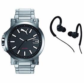 Kit Puma Pu103462018.set Ultrasize Reloj Dama Y Audifonos