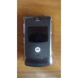 Celular V3 Black Motorola.. Desbloqueado+ Frete+ Envio Já