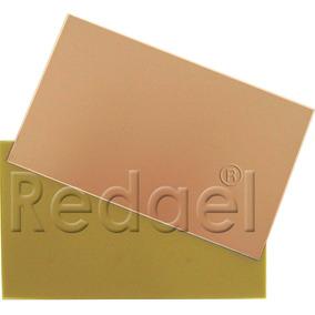 Placa De Fenolite Simples 20x25 + Div.