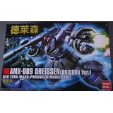 Gundan Maqueta Amx.009 Dreissen Unicorn Ver Escala 1/144