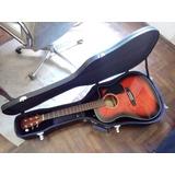 Guitarra Fender Electroacustica Folk Cd-60ce Si Permutas