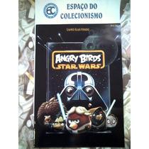Lote 100 Figurinhas Angry Birds Star Wars - Sem Álbum