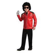 Disfraz Deluxe Red De Michael Jackson Beat It Niño De La Cr