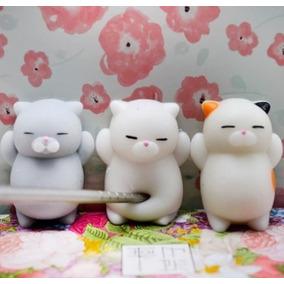 Gatito Squishy Kawaii Juguete 5cm 1articulo Gato Mochi Cat E