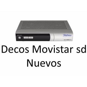 Decodificador Movistar Tv Por Cable Satelital Nuevo Sd
