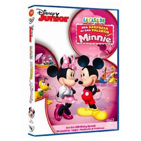 Dvd - La Casa De Mickey Mouse Una Sorpresa De San Valentín P