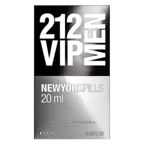 Perfume 212 Vip Men New York Pills Edt X 20 Ml