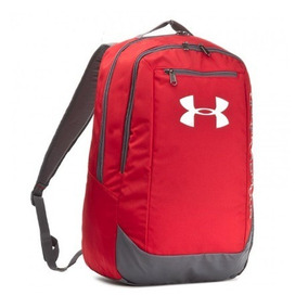 Mochila Under Armour Hustle Back Pack Ldwr Roja- Sporting