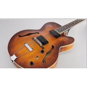 Guitarra Ibanez Semi Acústica Af 55 Artcore Tobacco Af55