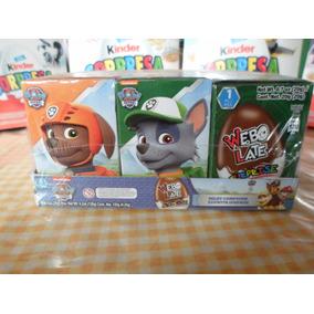 Huevo Sorpresa Tipo Kinder Paw Patrol 6pz Chocolate