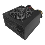 Fuente De Alimentacion Pc Gamer Iqual 600w Cooler 120mm Atx