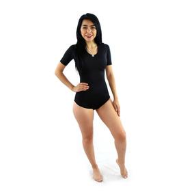 Leotardo Deportiva Mujer Playera Lycra Dama Gym Spgq05284
