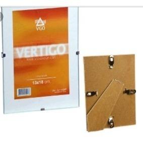 Portarretrato Vertigo Vgo 13x18 - Sin Marco - Clip - Con Pie