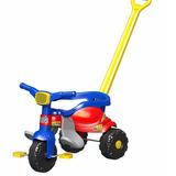 Triciclo Tico Tico Festa Azul Motoca Infantil - Magic Toys