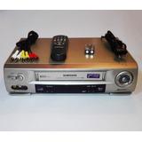 Reproductor Vhs Samsung 6 Cabezales Hifi Stereo