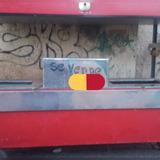 Carro De Perro Caliente Y Hamburguesa Con Dos Baños María.