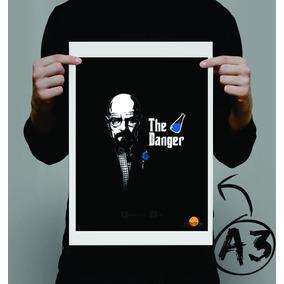 Poster Breaking Bad Serie - 40% Off Inauguração Posterstudio
