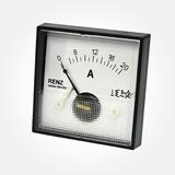 Amperimetro Analogico Renz 10a 20a 30a Qr65mm Dc