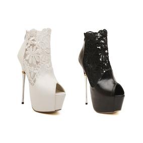 Sapato Plataforma Salto Alto Importada ( Frete Grátis )renda