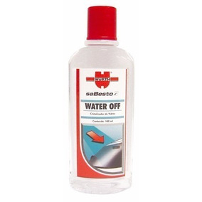 Water Off Wurth Cristalizador De Para Brisas E Vidros 100ml