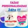 Tazas Personalizadas En 24hs!!! Con Caja