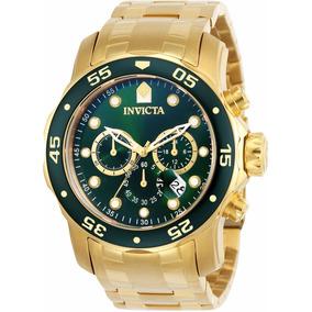 Relógio Invicta Pro Diver 0075 Dourado - Masculino