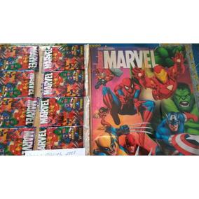Álbum Figurinhas Heróis Marvel 2009 - Completo Para Colar