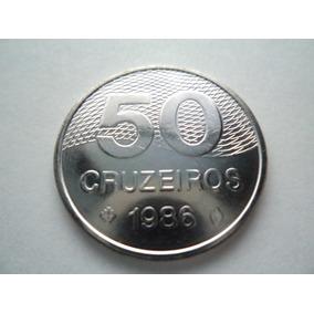 Moeda De 50 Cruzeiros 1986 - Escassa