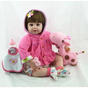 Bebe Reborn Importado Pronta Entrega+brinde Bebê Realista