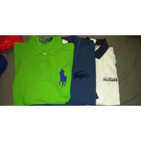 3 Camisas Tipo Polo Lacoste Nautica Ralph Laurent Xl