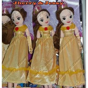 Princesa Bela Boneca Plush 50cm Original Disney Store