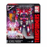 Transformer Alpha Trion Generacion Voyager Titans Hasbro