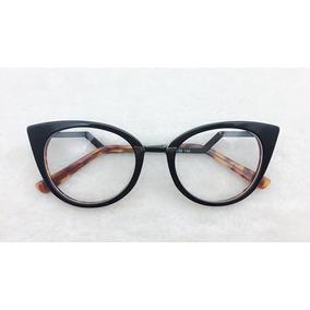 Armacao Oculos Grau Feminino Gatinho Dourado - Óculos em São Paulo ... e47009cd26
