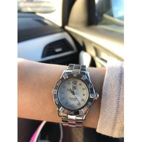 Reloj Tag Heuer Aqua Racer De Mujer Con 23 Brillantes