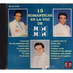 15 Románticas En La Voz De José José - Bmg Ariola México Cd