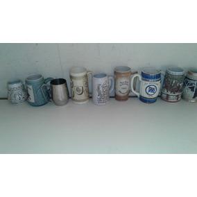 Canecas De Chopp Cerveja Coleção Porcelana Antiguidade