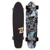 Z-flex Cruiser Skate Completo Maple Mini Longboard / Riders