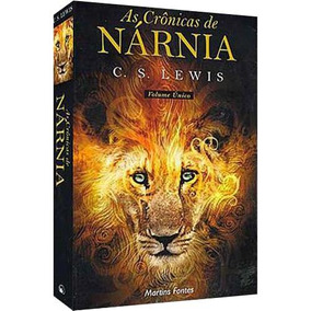 Livro As Crônicas De Nárnia (volume Único)