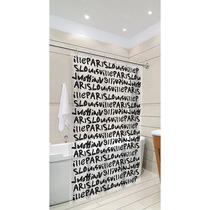 Cortina Box P/ Banheiro 140x180cm Tecido Pvc - Decoração