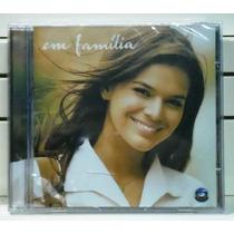 Novela Em Familia Cd Lacrado Original Nacional Som Livre