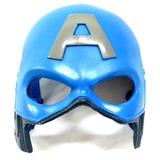 Mascara Capacete Capitão America Feita De Fibra De Vidro