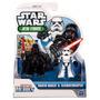 Star Wars Jedi Force 2011 Playskool Mini Figura De Darth Va