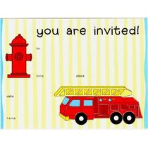 Invitaciones Fiddle-de-de Fiesta Cumpleaños Niños