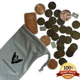 Bolsita Con Monedas Ultimate Inversiones Vx. 25 Centavos