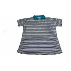 Blusa Listrada Gola Polo Juvenil Feminina