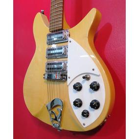 Guitarra L&f Rickenbacker 325 Maple Glo Escala Corta