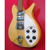 Guitarra L&f Rickenbacker 325 Maple Glo Escala Corta