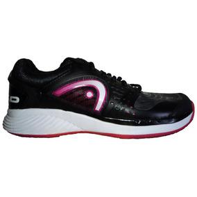 Tenis Head Negro Con Violeta (unico 25.5cm)
